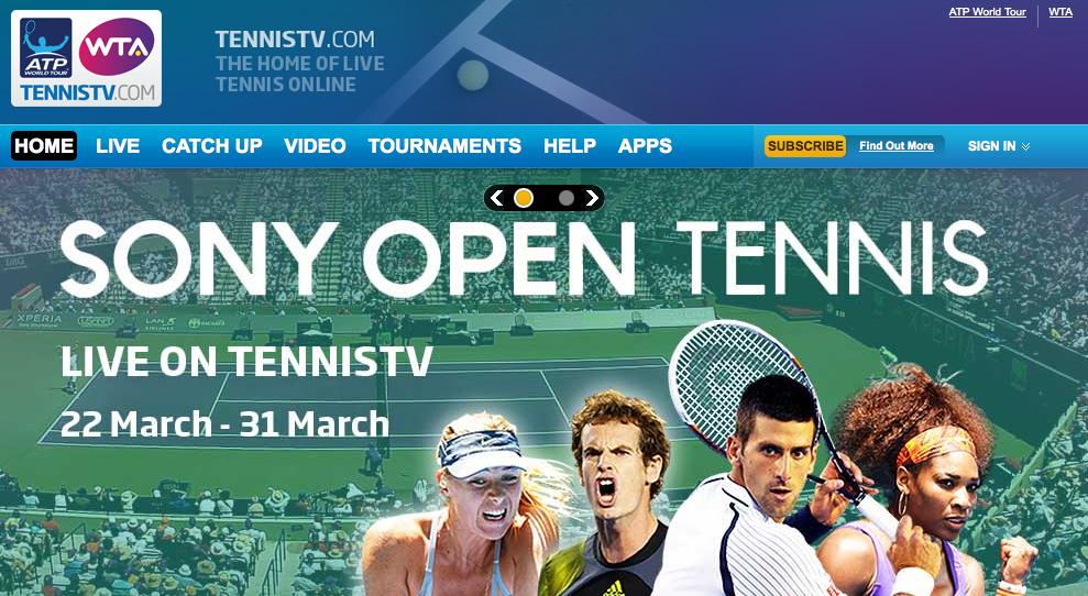 Stream og se tennis online – her i blandt ATP og WTA