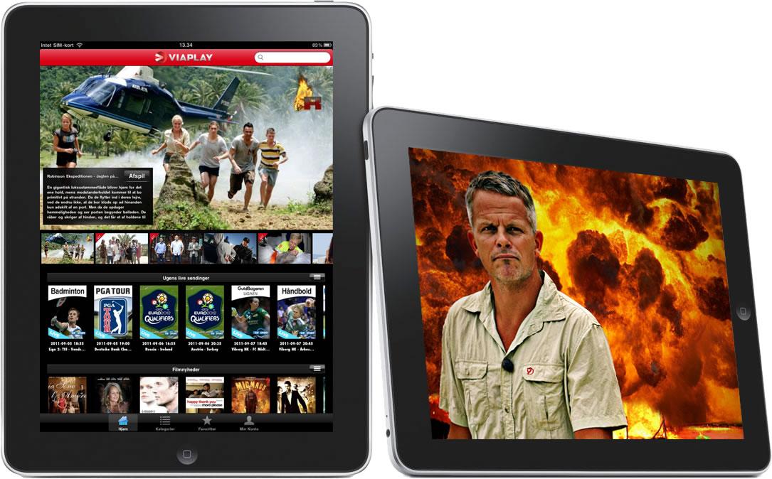 Sådan ser du ViaPlay på din iPad eller iPhone