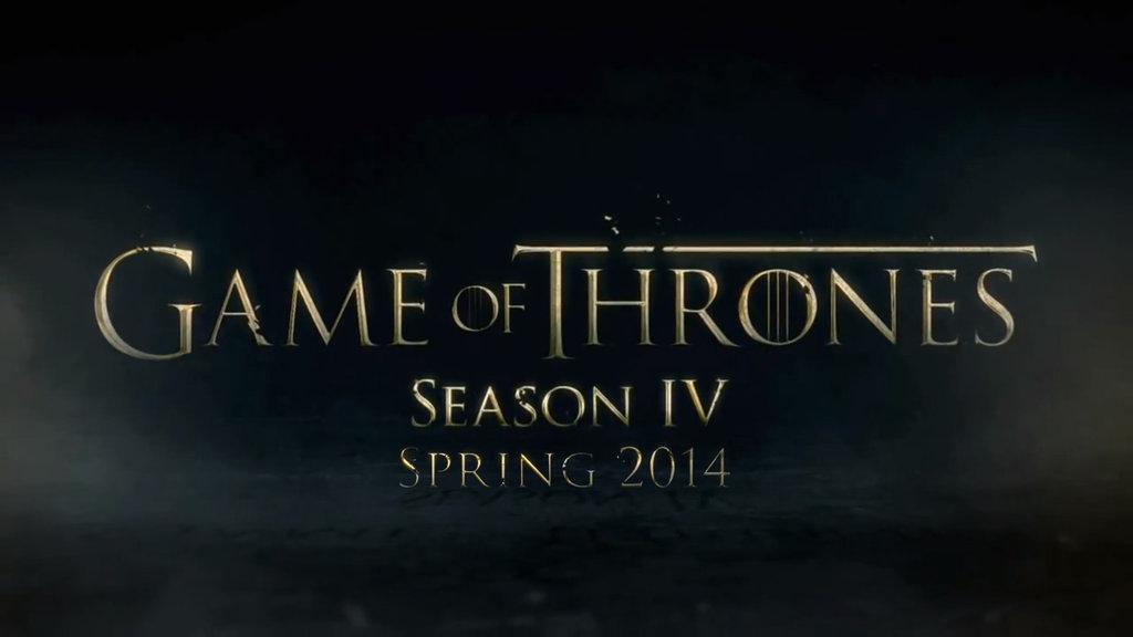 Game of Thrones sæson 4 presser HBO Go
