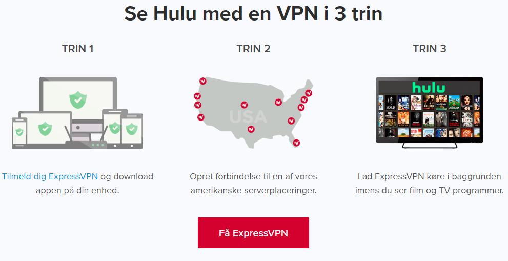 se Hulu i Danmark
